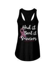 Breast Cancer Had It Beat It Survivor shirt Ladies Flowy Tank thumbnail