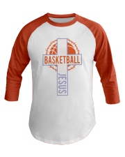 All I Need Today Is Little Bit Of Basketball Baseball Tee thumbnail
