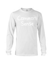 Common Sense shirt Long Sleeve Tee thumbnail