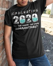 Crocheting 2020 The One Where They Were  Classic T-Shirt apparel-classic-tshirt-lifestyle-27