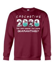 Crocheting 2020 The One Where They Were  Crewneck Sweatshirt thumbnail