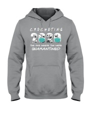 Crocheting 2020 The One Where They Were  Hooded Sweatshirt thumbnail