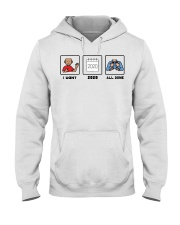 I want 2020 all done shirt Hooded Sweatshirt thumbnail