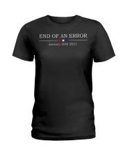 End of an error January 20th 2021 shirt Ladies T-Shirt thumbnail