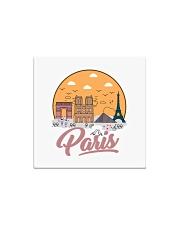 PARIS Premium Hometown Travel Souvenir T-Shirt Square Magnet thumbnail