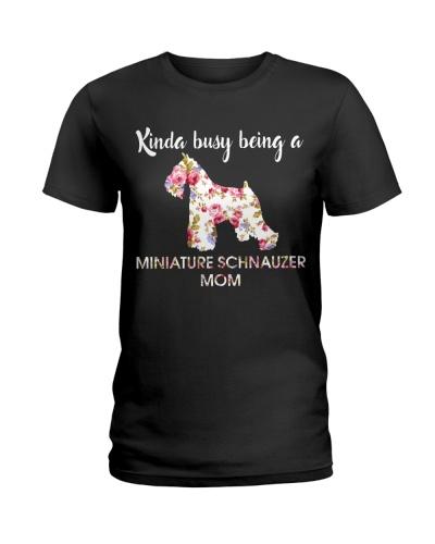 KINDA BUSY BEING A MINIATURE SCHNAUZER MOM