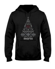 MARTA CHRISTMAS TREE Hooded Sweatshirt thumbnail