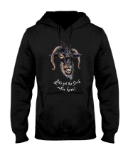 Lets Get The Flock Outta Here Goat Shirt Farmer Sh Hooded Sweatshirt tile