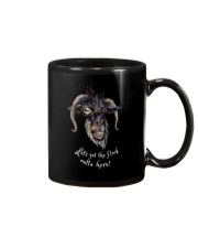 Lets Get The Flock Outta Here Goat Shirt Farmer Sh Mug tile