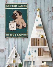 Your Butt Napkins My Lady 24x36 Poster lifestyle-holiday-poster-2
