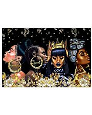 Melanin Queen Unapologetic Dope 36x24 Poster front
