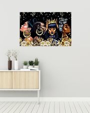Melanin Queen Unapologetic Dope 36x24 Poster poster-landscape-36x24-lifestyle-01