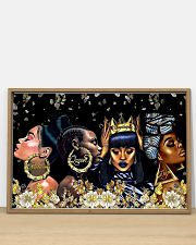 Melanin Queen Unapologetic Dope 36x24 Poster poster-landscape-36x24-lifestyle-03