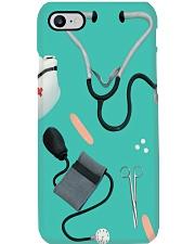 Teal Nurse Tools Phone Case i-phone-8-case