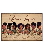 Black Girls You Are Amazing  24x16 Poster front