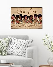 Black Girls You Are Amazing  24x16 Poster poster-landscape-24x16-lifestyle-01