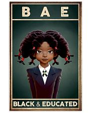 BAE Black Girl Black And Educated 24x36 Poster front