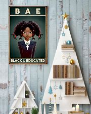 BAE Black Girl Black And Educated 24x36 Poster lifestyle-holiday-poster-2