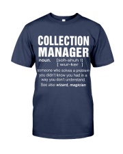 HOODIE COLLECTION MANAGER Premium Fit Mens Tee front
