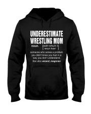 HOODIE UNDERESTIMATE WRESTLING MOM Hooded Sweatshirt thumbnail