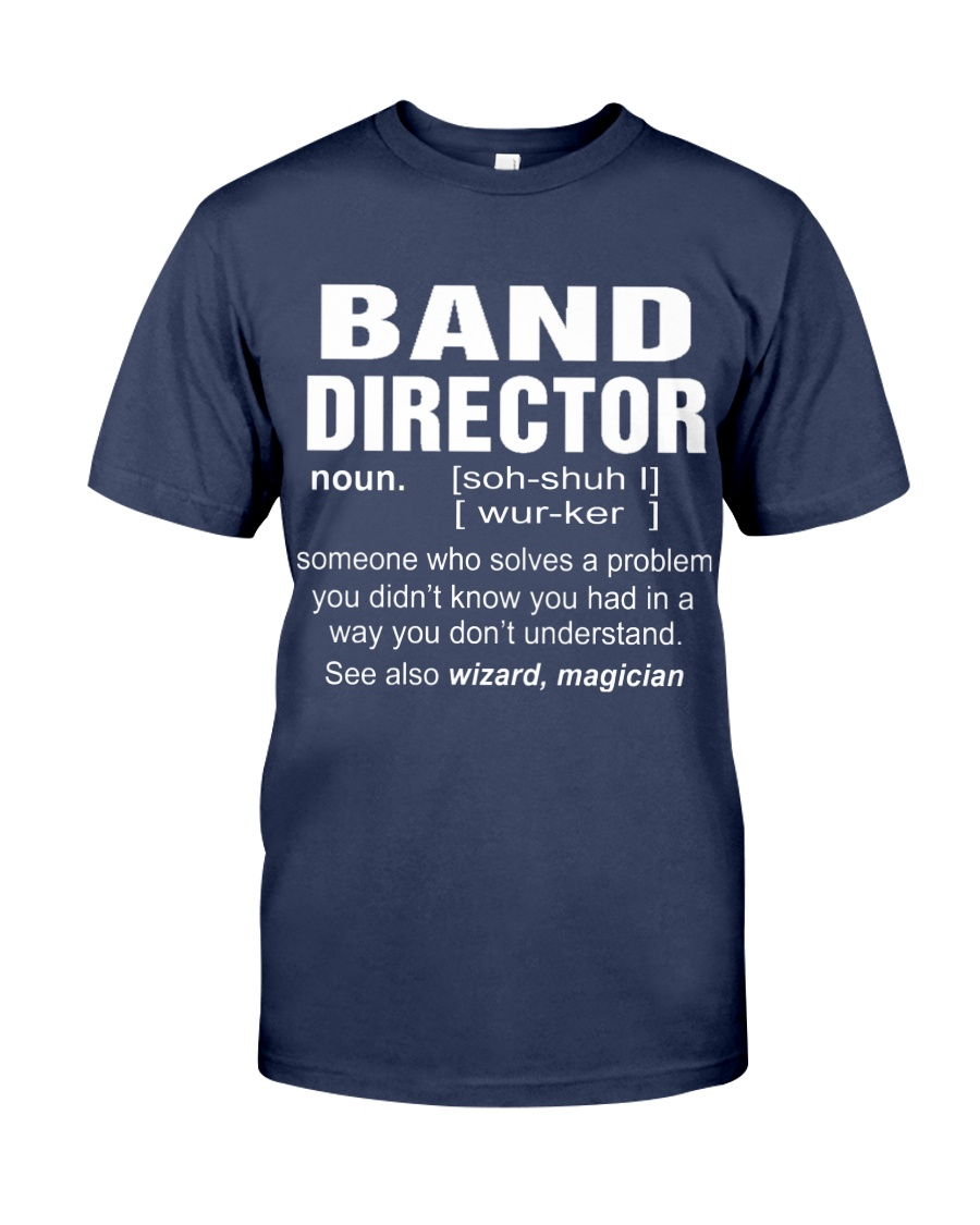HOODIE BAND DIRECTOR Premium Fit Mens Tee