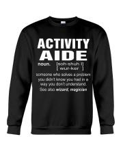 HOODIE ACTIVITY AIDE Crewneck Sweatshirt thumbnail