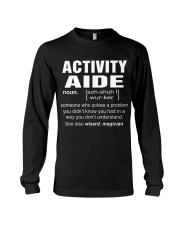 HOODIE ACTIVITY AIDE Long Sleeve Tee thumbnail
