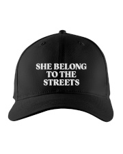 She belong to the streets Embroidered Hat front