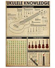 UKULELE KNOWLEDGE 11x17 Poster front