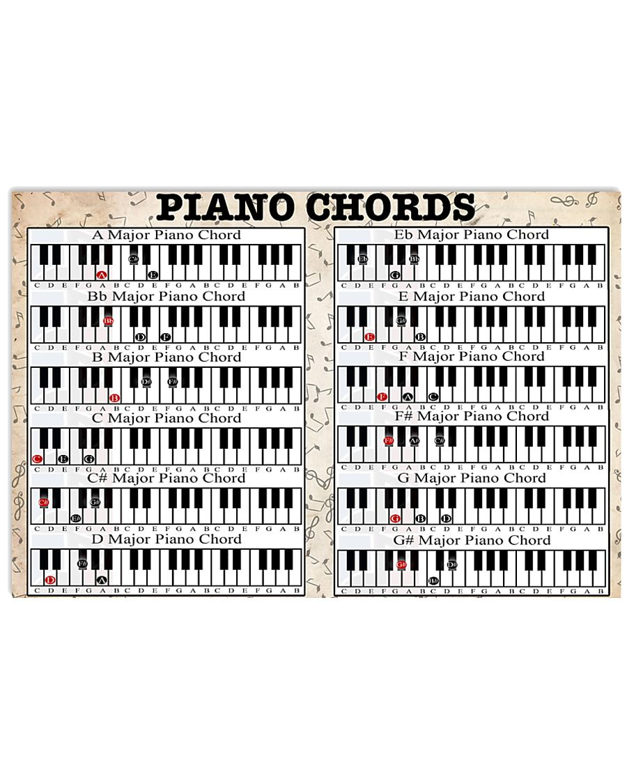 PIANO 17x11 Poster