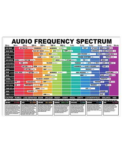 AUDIO FREQUENCY SPECTRUM