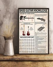 BASS GUITAR KNOWLEDGE 11x17 Poster lifestyle-poster-3