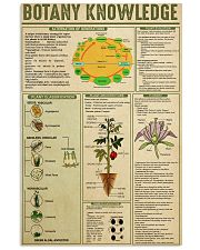 BOTANY KNOWLEDGE 24x36 Poster front