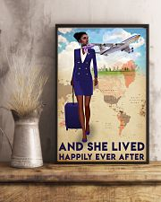 Flight Attendant Poster 24x36 Poster lifestyle-poster-3