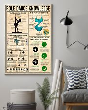 POLE DANCE KNOWLEDGE 24x36 Poster lifestyle-poster-1