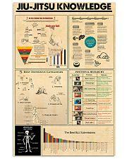 JIU-JITSU KNOWLEDGE 24x36 Poster front