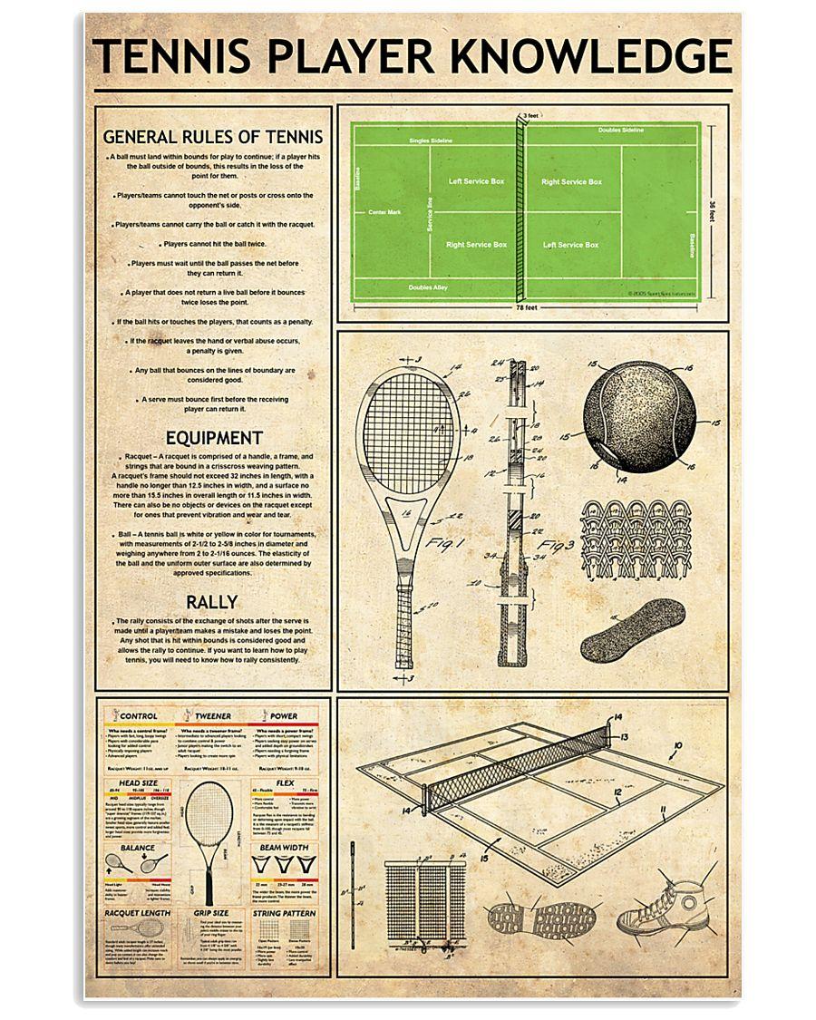 Tennis 11x17 Poster