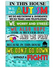 AUTISM 11x17 Poster front