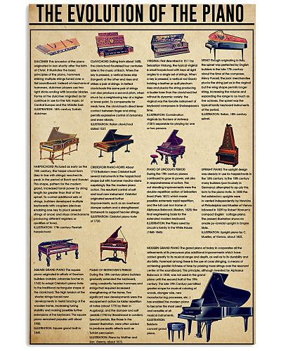 THE EVOLUTION OF THE PIANO