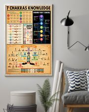 7 CHAKRAS KNOWLEDGE 11x17 Poster lifestyle-poster-1