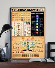 7 CHAKRAS KNOWLEDGE 11x17 Poster lifestyle-poster-2