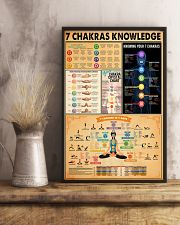 7 CHAKRAS KNOWLEDGE 11x17 Poster lifestyle-poster-3