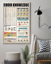 CHOIR KNOWLEDGE 11x17 Poster lifestyle-poster-1