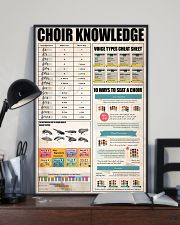 CHOIR KNOWLEDGE 11x17 Poster lifestyle-poster-2