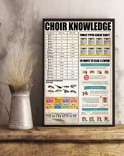 CHOIR KNOWLEDGE 11x17 Poster lifestyle-poster-3