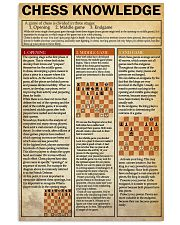 CHESS 24x36 Poster front