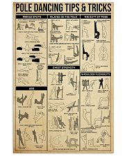POLE DANCING TIPS  TRICKS 24x36 Poster front