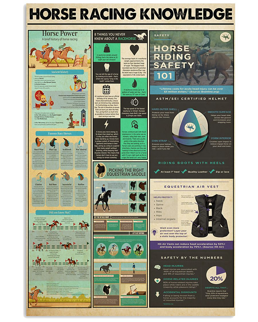 HORSE RACING 24x36 Poster