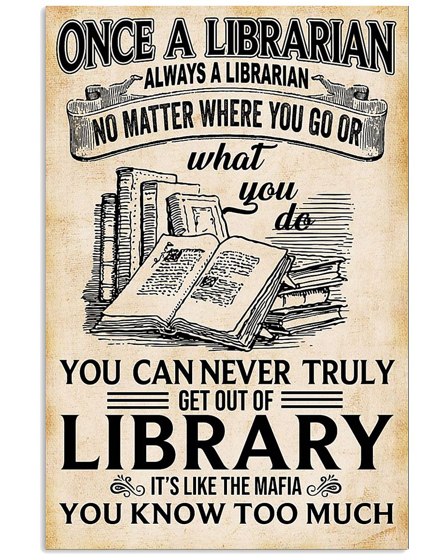 LIBRARIAN 11x17 Poster