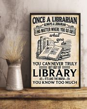 LIBRARIAN 11x17 Poster lifestyle-poster-3